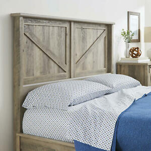 Rustic Farmhouse Queen Headboard Barn Door Style Country ...