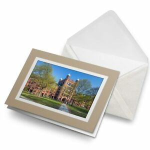 Greetings-Card-Biege-Yale-University-Buildings-Connecticut-USA-24456