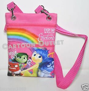 Image Is Loading Inside Out Bag Wallet Coin Purse Lanyard Disney