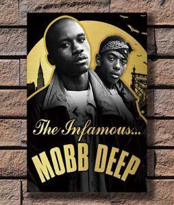 Art Poster 24x36 27x40 Mobb Deep Rap Music T-1575