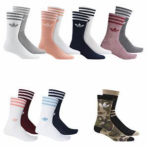 Details about Adidas Originals Solid Knee Socks 2 pairs Knee Socks Stockings Socks show original title