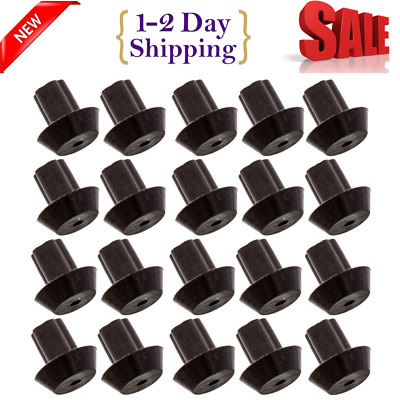 20 Pack Rubber Feet for Cooktop Grates Gas Range Burner Stove Foot Pads Parts