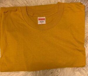 Supreme Blank Tee Brown Size Medium Short Sleeve