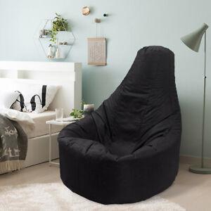 1X-Arm-Chair-Adult-Beanbag-Cover-Outdoor-Garden-Gamer-Large-Bean-Bag-Portable-RW