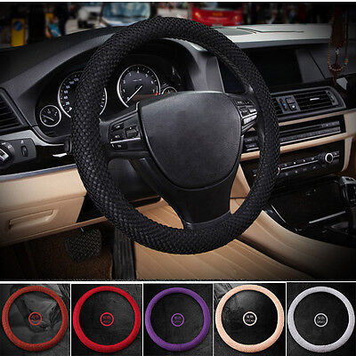 "2015 No smell 38cm 15""  Summer 3D Sandwich Eva Rubber Car Steering Wheel Cover"