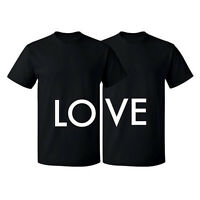 Fruit of the Loom Valentines Day Couple Matching T-shirt