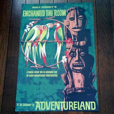 NEW Art of Disney Enchanted Tiki Room The Birds Sing Deluxe Print by SHAG