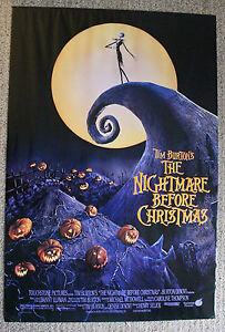 image is loading 034 nightmare before christmas 034 original movie poster - The Nightmare Before Christmas Poster