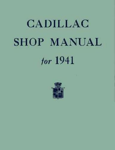 OEM Repair Maintenance Shop Manual Cadillac /& Lasalle All Models Chassis 1941