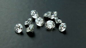 Natural-Loose-Diamond-Round-Brillant-Cut-White-G-H-Color-SI1-Clarity-10-Pcs-Q19