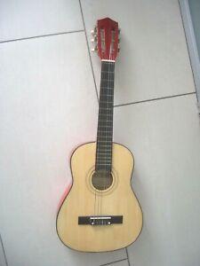 Sinnvoll Bontempi Gitarre Kindergitarre Klampfe Gsw75/n Rot Schwarz Stimmbar Musikinstrum Gitarren & Bässe Akustische Gitarren