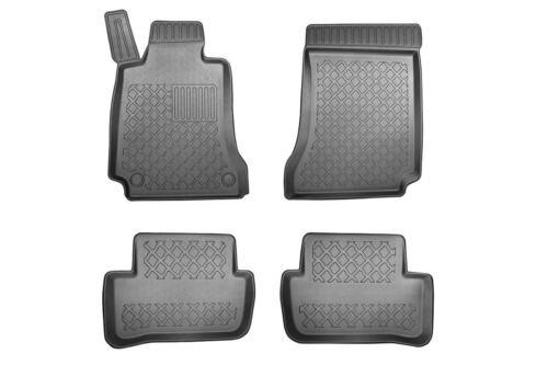 TPE Schmutzfangmatten Fußraumschalen für Mercedes C-Klasse W204 Limousine 07-14