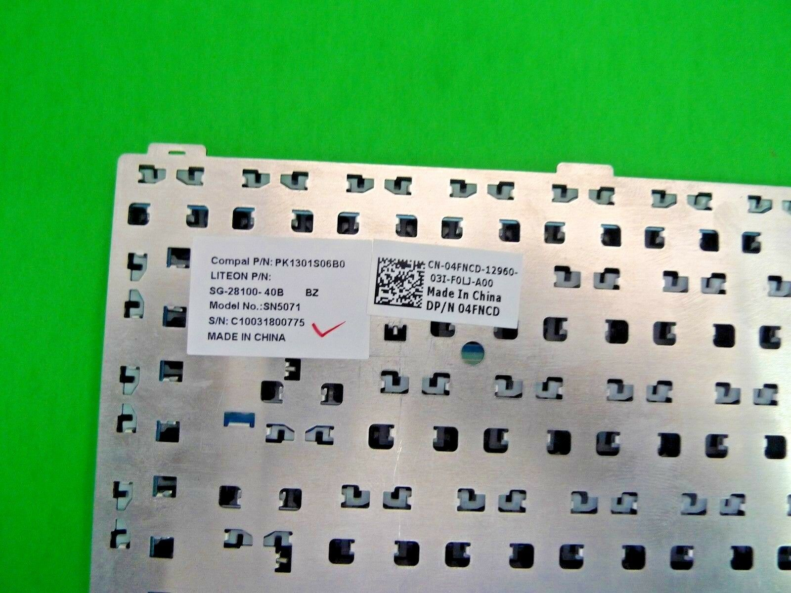New Laptop Keyboard for DELL 1428 1427 FT02 1427 1425 Keyboard Replacement