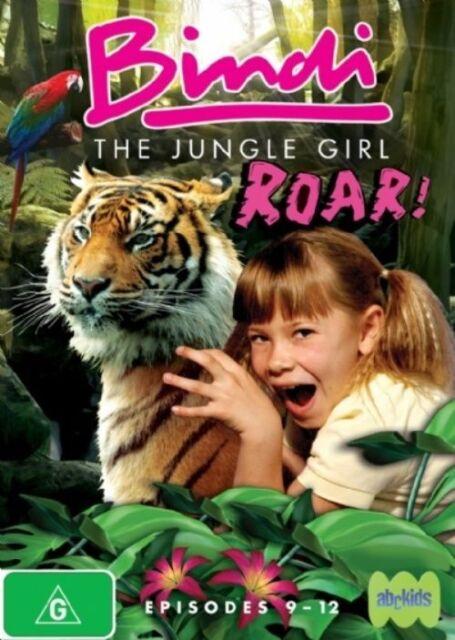Bindi - The Jungle Girl - Roar! : Vol 3 (DVD, 2008) Region 4 Used Good Condition