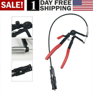 US-Heavy-Duty-Cable-Flexible-Wire-Hose-Clamp-Pliers-Car-Repairs-Removal-Tools