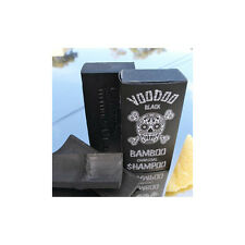 100%Natural Black Charcoal Shampoo Bar Itchy Sensitive Scalp Men Women Dandruff