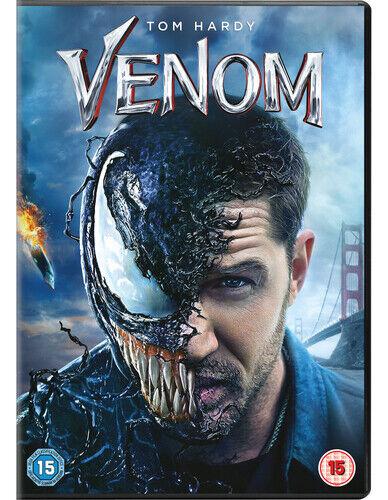 Venom DVD (2019) Tom Hardy, Fleischer (DIR) cert 15 ***NEW*** Quality guaranteed
