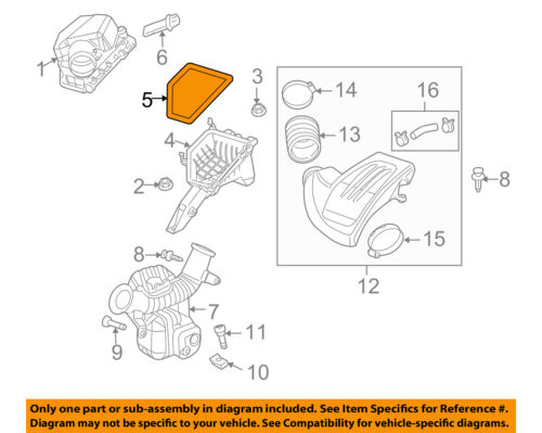GM OEM Engine-Air Filter Element 21999324