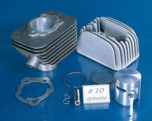 Zylinderkit Polini Sport 63ccm 10mm Kolbenbolzen für Piaggio Ciao mit Kopf !