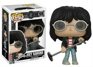 FUNKO-POP-ROCKS-Joey-Ramone-New-Toys-Vinyl-Figure