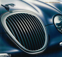 2000 Jaguar S-type Brochure / Catalog / Prospek With Specifications:3.0 L,4.0 L