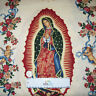 Alexander Henry VIRGIN of GUADALUPE Cream Gold Cotton Quilt Fabric by the Yard