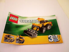Lego Creater Instruction Booklet 5761 Book Manual ONLY