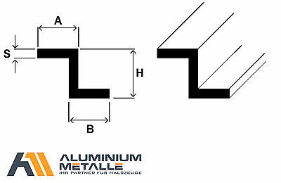 80cm Aluminium Vierkantrohr AW-6060-10x10x1,5mm auf Zuschnitt L: 800mm