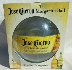 NIB NEW In Box Jose Cuervo Margarita Ball w/ Pump & Instructions