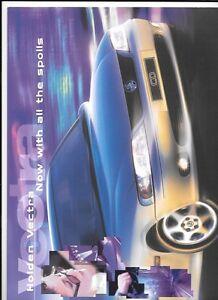 100% Vrai Holden Vectra Berline, Break & Berline Australien Vente Brochure Août 1999 à 2000-afficher Le Titre D'origine Longue DuréE De Vie