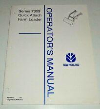 New Holland 7309 Loader Operators Manual Original Nh 195 Fits 2120 To 4610