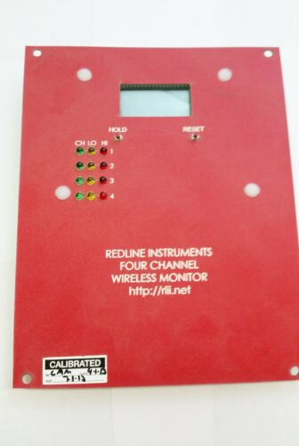 RB 4 Details about  /Redline Wireless 4 Channel Gas Dectector Monitor Board