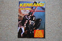 KERRANG MAGAZINE # 192 1988 DEATH ANGEL NUCLEAR ASSAULT FREHLEY'S COMET DLR