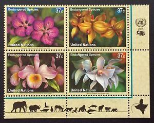 Briefmarke-Vereinten-Nationen-New-York-Briefmarke-N-953-Bis-956-N-MNH-Y7
