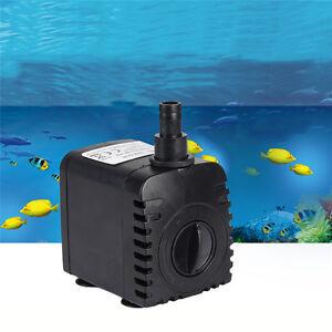 150-1500L//H Submersible Aqua Aquarium Fountain Pond Marine Water Pump Fish Tank