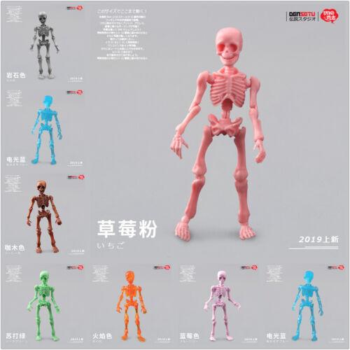 Miniatures Skull Figure Pose Skeleton Adult Action Man Model Scene Toys Kid Gift