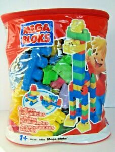 Mega-Bloks-80-Piece-Big-Building-Bag-Classic-learning-motor-skills-creative