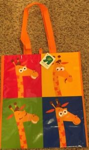 GEOFFREY TOY R US GIRAFFE EXCLUSIVE REUSABLE RECYCLABLE PLASTIC SHOPPING BAG
