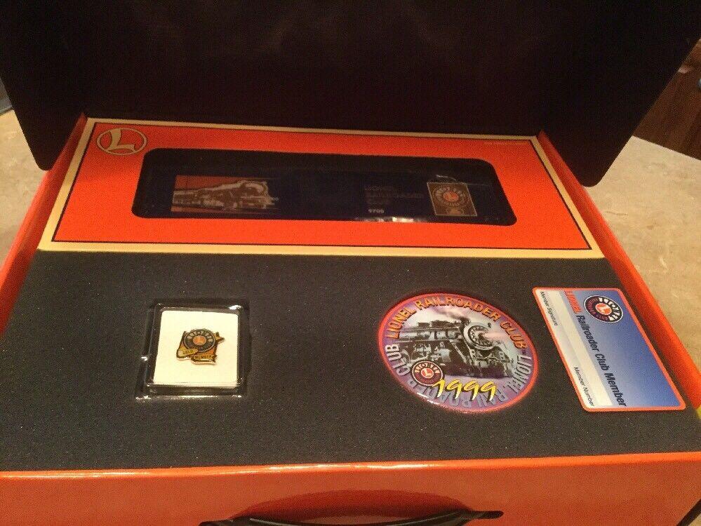 Lionel Railroader Club 1999 Box Set Includes Pin, Box Car ..