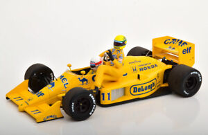 1-18-Minichamps-A-Senna-riding-on-S-Nakajimas-Lotus-99T-11-Italian-GP-F1-1987