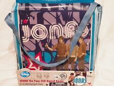 JONAS ON TOUR CD BOARD GAME MESSENGER BAG DISNEY JONAS BROTHERS