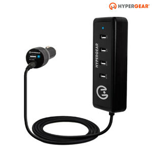 HyperGear Road Trip 5 Port High Speed USB Car Charger