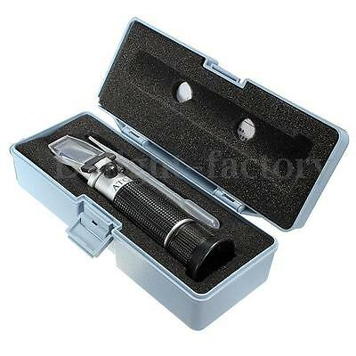RSG-100ATC Brix & Beer Wine Sugar Fruit Wort 0-32% Refractometer Tools Set