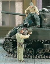 Verlinden 1/35 VP 1961 2 US Tank Crew for Loaded of Tank
