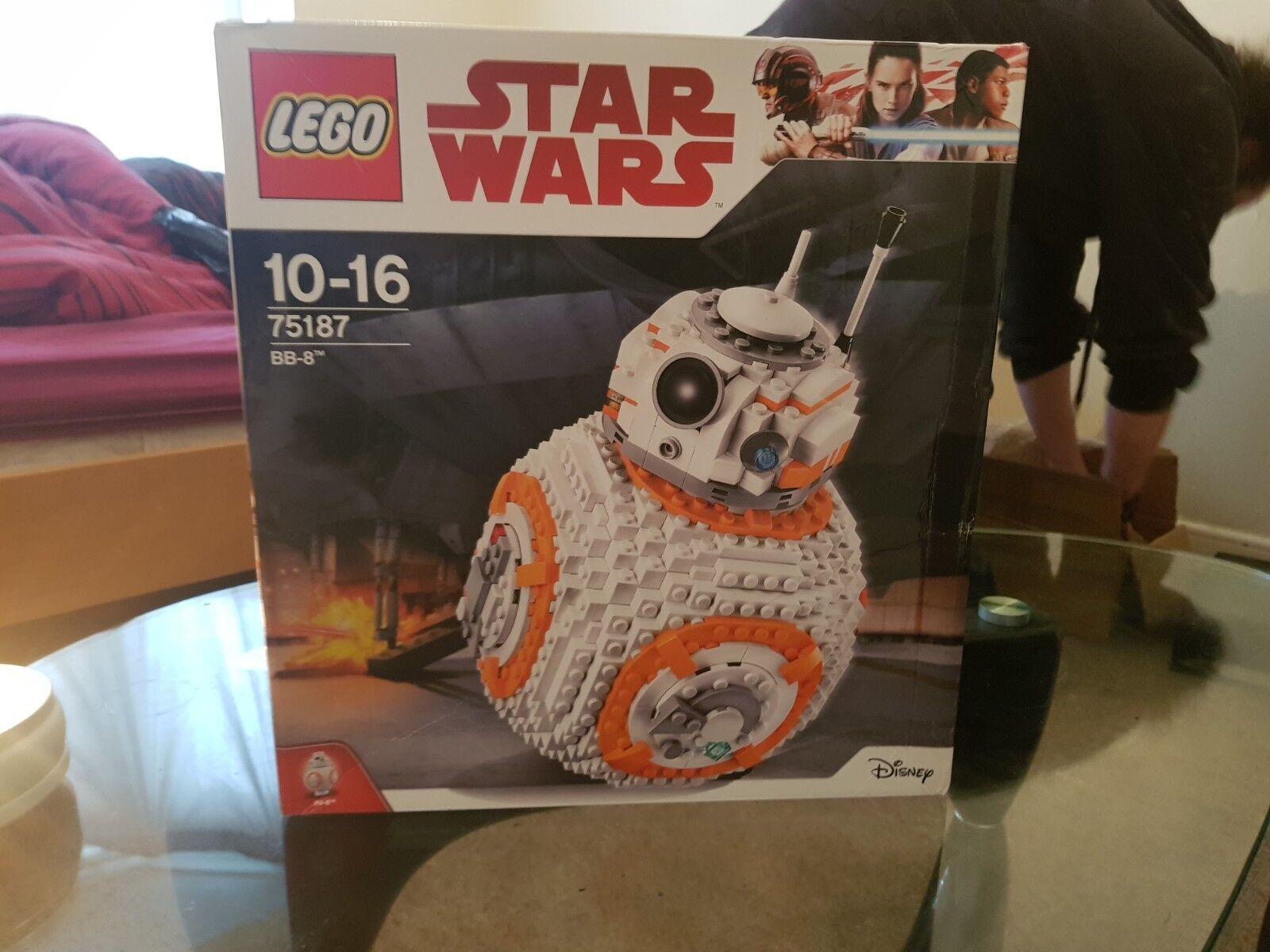LEGO Star Wars BB-8 2017 (75187) rare