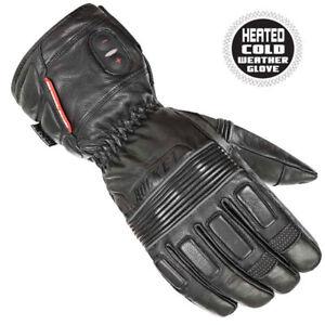 2018-Joe-Rocket-Rocket-Leather-Burner-Heated-Motorcycle-Gloves-Pick-Size