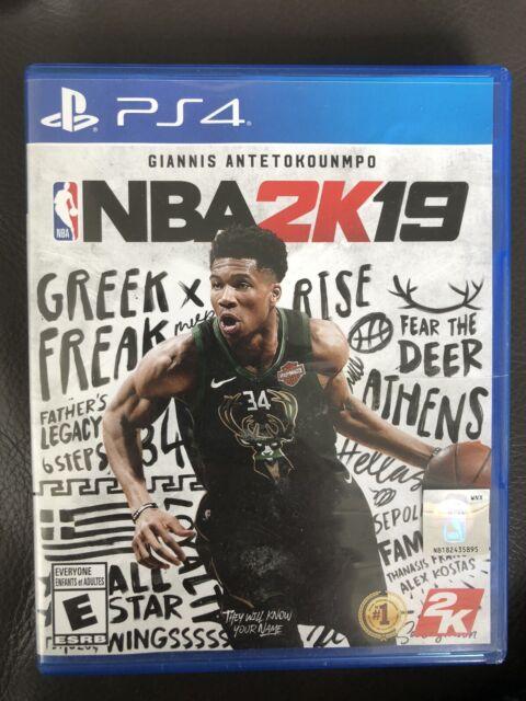 2K NBA 2K19 PlayStation 4