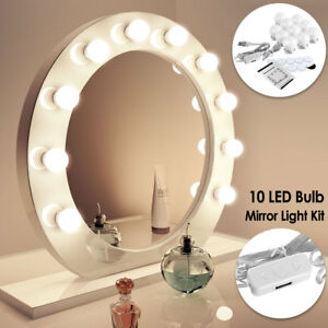 3 Colors Makeup Mirror Lights Led Hollywood Kit Bulbs Wall Vanity