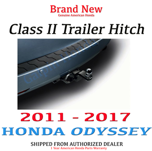 2011 2017 honda odyssey genuine oem class 2 trailer hitch 08l92 tk8 100 ebay. Black Bedroom Furniture Sets. Home Design Ideas