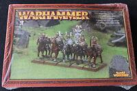 Games Workshop Warhammer Warriors Of Chaos Marauder Horsemen Regiment Metal
